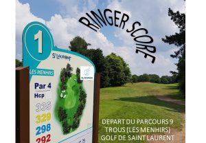 Ringer score golf Saint-Laurent